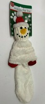 Duke's Holiday Snowman Crinkly Squeeky Plush Dog Puppy Toy - £10.79 GBP