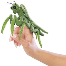 Folkmanis Mini Praying Mantis Finger Puppet - $12.82