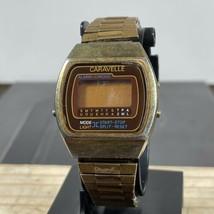 caravelle Digital Watch parts / repair 1980s Alarm Chrono - $34.65
