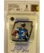 2004 Upper Deck Ultimate Collection #112 Kevin Jones Detroit Lions BGS B... - $12.59