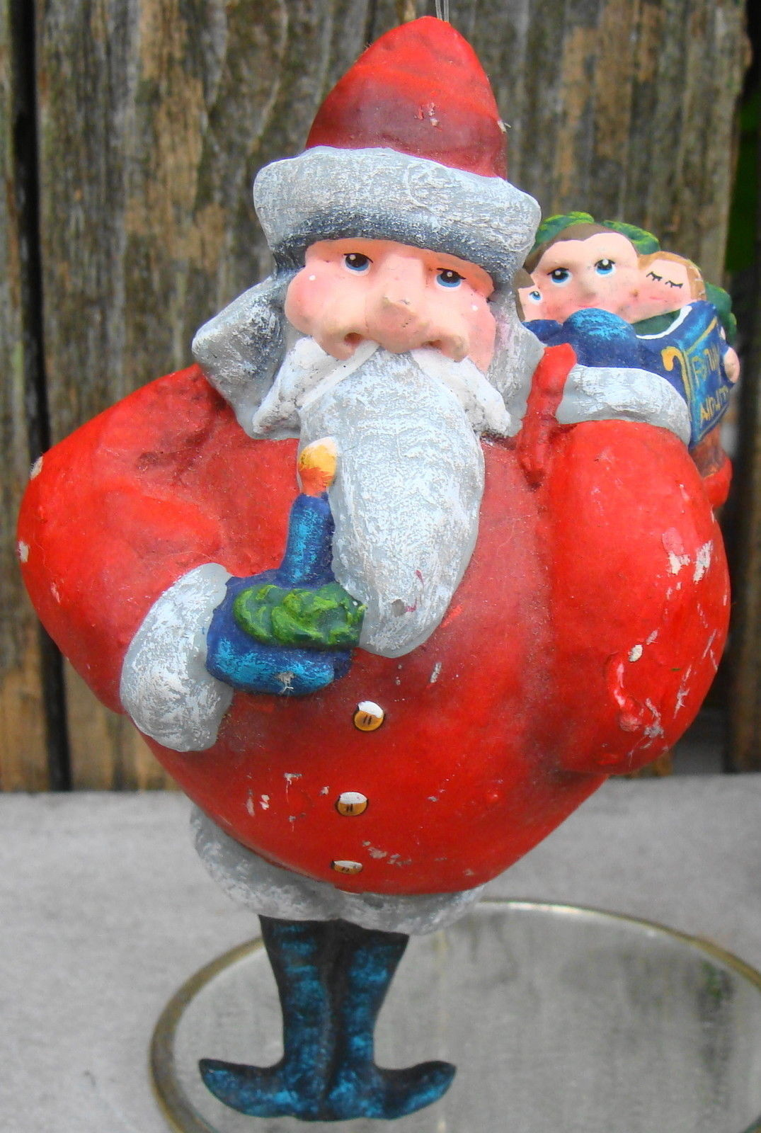 Primary image for Santa w Bag Toys Christmas Ornament