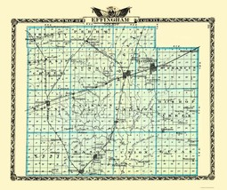Effingham Illinois - Warner 1870 - 23 x 27.42 - $36.95+