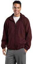 Sport-Tek JST73 Mens Hooded Raglan Jacket - Maroon - $23.98+
