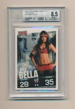 2009 Topps WWE Slam Attax RC Rookie Evolution Brie Bella BGS 8.5 - $50.00