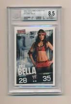 2009 Topps WWE Slam Attax RC Rookie Evolution Brie Bella BGS 8.5 - $50.00