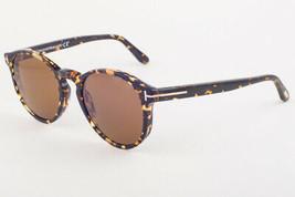 Tom Ford IAN Havana / Polarized Brown Sunglasses TF591 52M IAN-02 51mm - $234.22