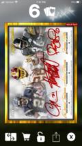 Topps HUDDLE Triple Gold Sig Bettis, LT, Adrian Peterson [DIGITAL CARD] ... - $14.84
