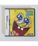 Nintendo DS Dsi Dsl Complete Game SPONGEBOB'S TRUTH OR SQUARE - $4.46