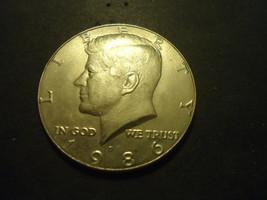 1986-D<<<<< KENNEDY HALF DOLLAR - $1.98