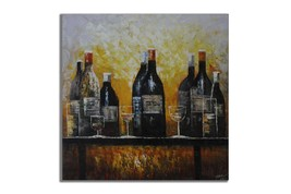 Ansavv Perfect Setting Multicolor Oil On Canvas Painting - $242.00