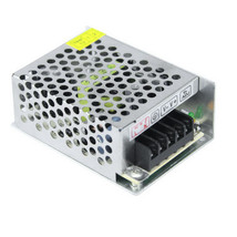 DC 5V 5A 25W Output High Efficiency Switching Power Supply - Silver - $14.25