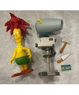 Simpsons Sideshow Bob World of Springfield Interactive Figure W/ Access ... - $98.95