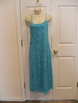 New in pkg newport news aqua prom bridesmaid formal occasion gown dress size 4 - $37.86