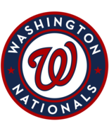 WASHINGTON NATIONALS CHAMPIONS LOGO POSTER 24 X 24 Inches - $19.94