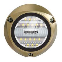 Lumitec 101516 SeaBlazeX2 LED Underwater Light - Dual Color - White/Blue - $399.00