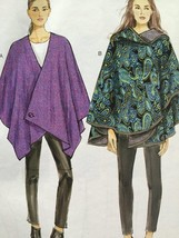 Vogue Sewing Pattern Very Easy Vogue 9038 Misses Cape Size XS-M New - $19.06