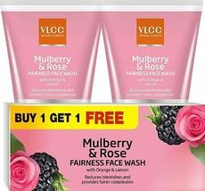 VLCC Mulberry and Rose Facewash,150ml E698 - $14.69