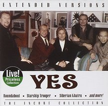 YES - EXTENDED VERSIONS - Gently Used CD - 5 Epic Songs - FREE SHIP  - $9.99