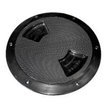 "Sea-Dog Textured Quarter Turn Deck Plate - Black - 8"" - $32.99"
