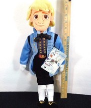 "Disney Store Authentic Frozen Kristoff Plush Doll Medium Size 19"" NEW Ad... - $23.75"