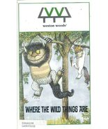 Where The Wild Things Are (Spanish Language) [VHS Tape] - $24.99