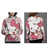 Hello Kitty Cute Hoodie Fullprint Women - $43.99+