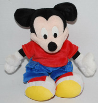 "Mickey Mouse Toy Plush Stuffed Doll 11"" Walt Disney 2001 Mattel Fisher P... - $14.80"
