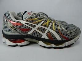 Asics Gel Nimbus 13 Size 9 2E WIDE EU 42.5 Men's Running Shoes Silver T143N(2E)
