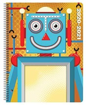 Dated Elementary Student Planner 2020 - 2021 Academic School Year, 8.5x11 inch B