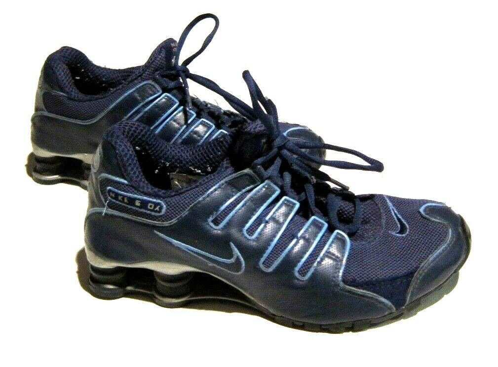 promo code 371f2 e4a71 Womens Nike Shox NZ Blue on Light Blue UNC North Carolina Colors sz 9 -   46.53