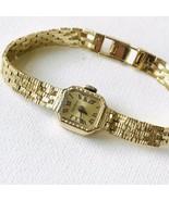 Vintage Belvil Geneve 14k Gold Hand-Wind Ladies Watch 17Jewels EXCELLENT... - $717.75