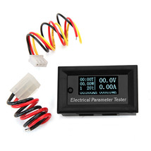RUIDENG 7 In 1 100V 10A Multifunction White OLED Digital Electrical Para... - $24.37