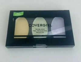 Covergirl Trublend Pre-Touching Palette Yellow Green Purple NEW SEALED! - $5.23