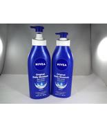 NIVEA Original Daily Moisture Body Lotion - Restores Moisture - 2pk*READ... - $17.77