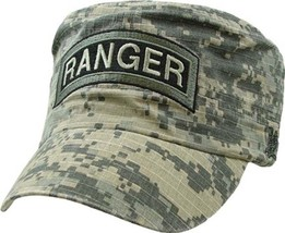 U.S. Army Ranger ACU With Logo Military Hat Baseball Cap Officially Lice... - $23.95