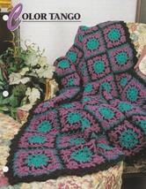 Color Tango, Annie's Attic Crochet Quilt & Afghan Pattern Club Leaflet Q... - $2.95