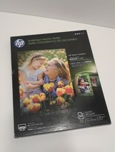 HP Everyday Photo Paper Glossy 8 1/2 x 11, 47 Sheets/Pack OPEN BOX Stationary - $11.04