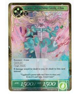 Avatar of Seven Lands Alice TMS-053 SR FOIL FULL ART Force of Will FoW T... - $4.00