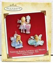 2004 Hallmark Keepsake Toddlers Frostlight Faeries Collection QXG5531 - $25.00