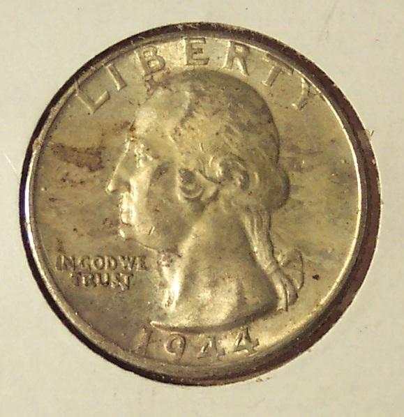1944-D Silver Washington Quarter UNC #011