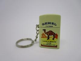 Vintage Rare Camel Windproof Mini Lighter Keychain Keyring Unburned NOS - $19.70