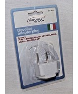 Travel Adapter Plug Seven Stars Europe Italy Switzerland, Middle East SS... - $9.41