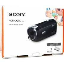 Sony HDR-CX240/B 9.2 Megapixels Full HD Handycam Camcorder - 27x Optical... - $184.09
