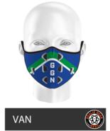 Goalie Gear Nerd Mask - Vancouver Theme - $11.00