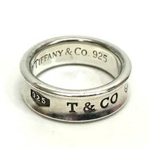 AUTHENTIC TIFFANY&Co. Narrow Ring Silver  1837 - $120.00