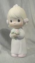 Precious Moments Jonathan & David Bridesmaid Wedding 1983 #E2831 Cedar Tree Mark - $9.74