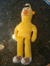Vintage Knickerbocker Sesame Street Bert Figure Doll Muppet Toys Soft Nude - $19.95