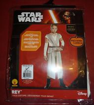 Halloween Disney Star Wars Rey Child Costume Rubies Size Medium 8-10 - New! - $23.75