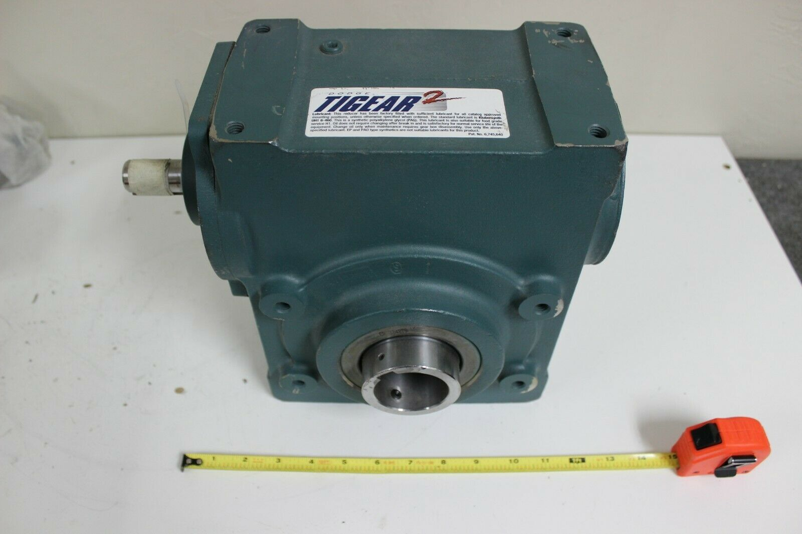 Dodge 35S25H Right Angle Worm Gear Speed Reducer Single Reduction New