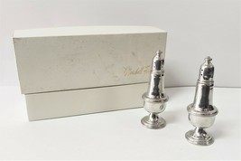 EMPIRE PEWTER WEIGHTED SALT & PEPPER SHAKERS - $19.79